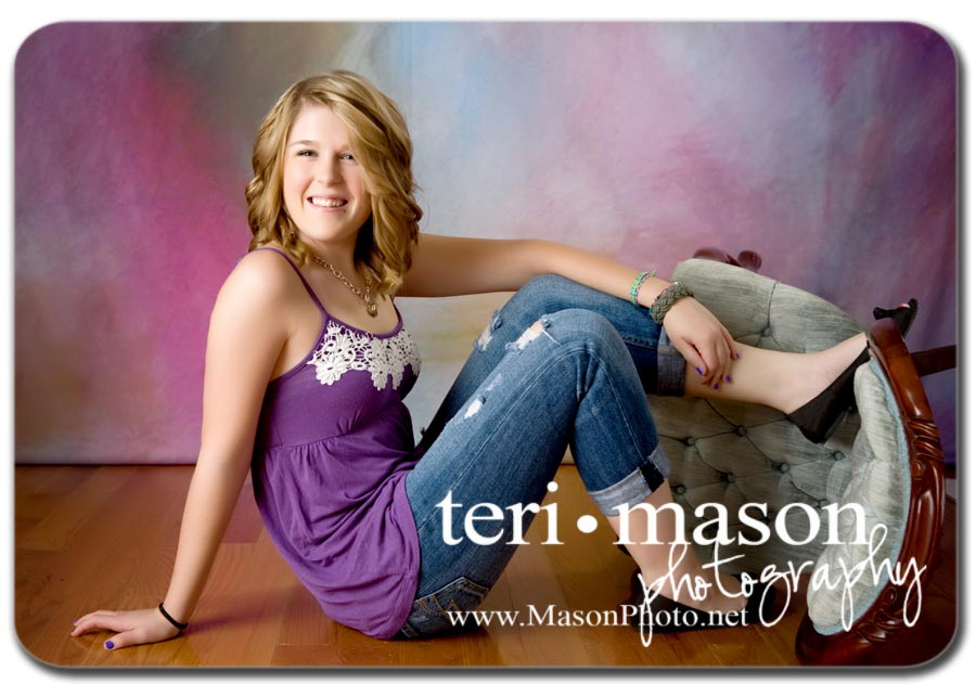 fun senior portraits in Austin TX