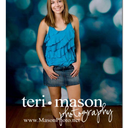 Austin Senior Pics in Studio
