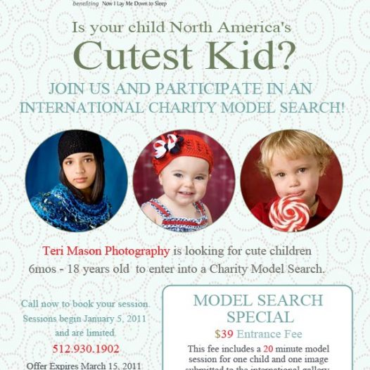 Austin child photography model search