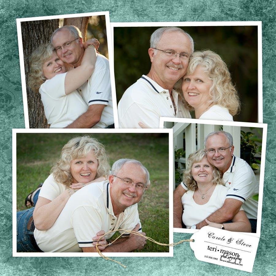 Austin outdoor couple photo