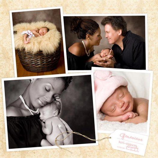 austin, tx newborn sleeping portrait