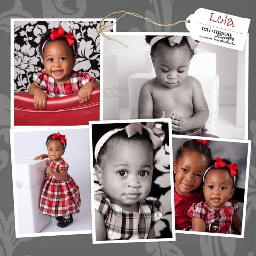 Baby's first year photos