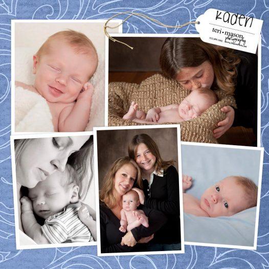 Austin newborn and big sis