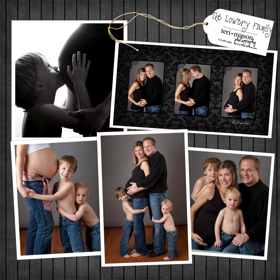 maternity pregnancy studio portraits pictures Georgetown tx