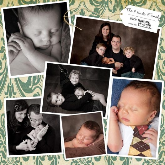 Georgetown newborn family photographer