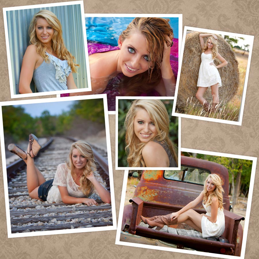 outdoor senior pictures in Georgetown, TX