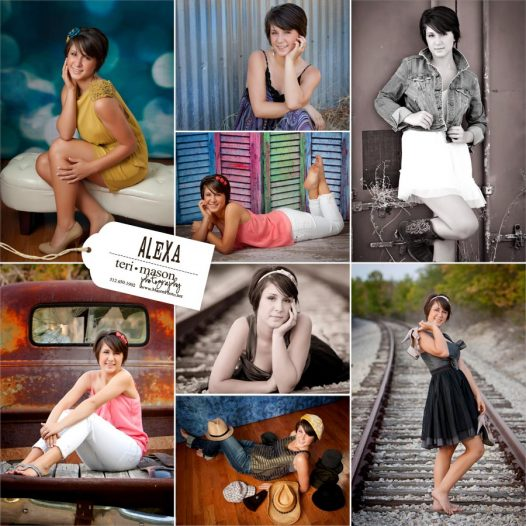 Georgetown Texas high school senior pictures of Alexa