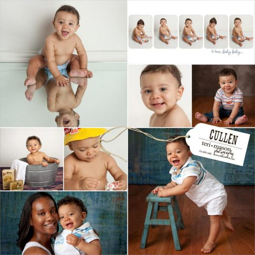 baby's first year pictures