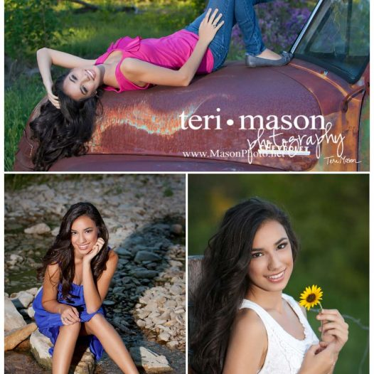 Gorgeous outdoor locations make senior pics more fun!