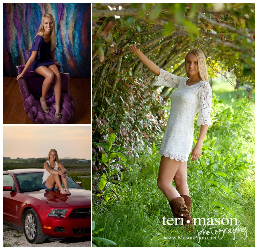 Cool kids choose Teri Mason for their senior pictures!