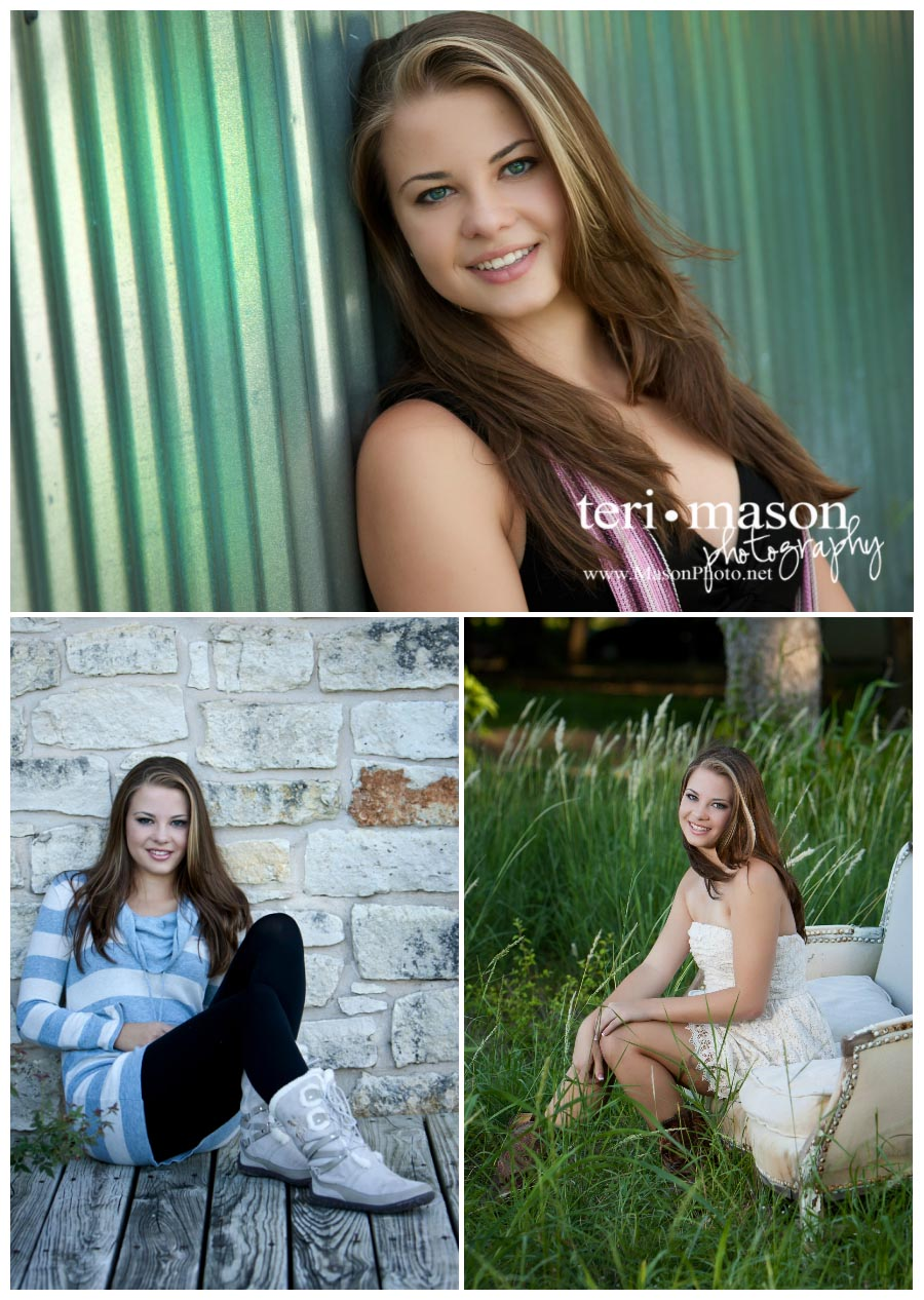 Senior pictures are fun at Teri Mason Photography!