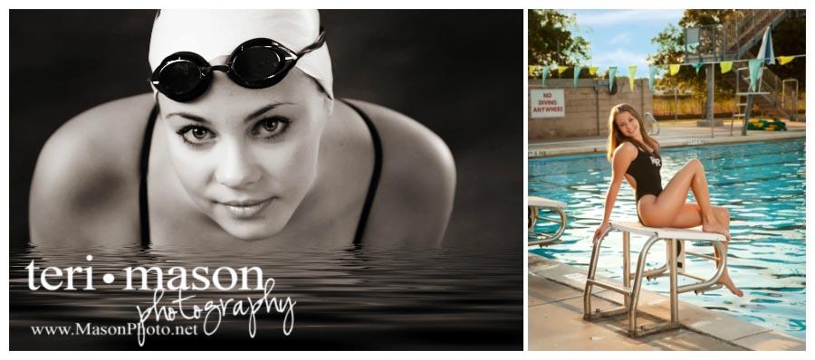 Get wet with underwater senior pictures!