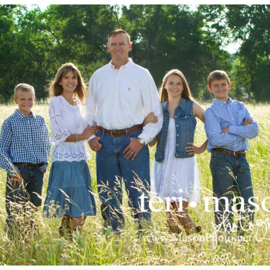 Austin TX family photographer, outdoor family portrait