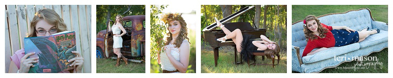 Senior girl Georgetown texas photo