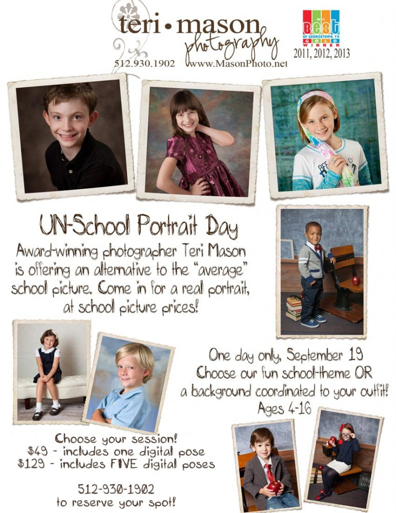 school pictures Georgetown TX